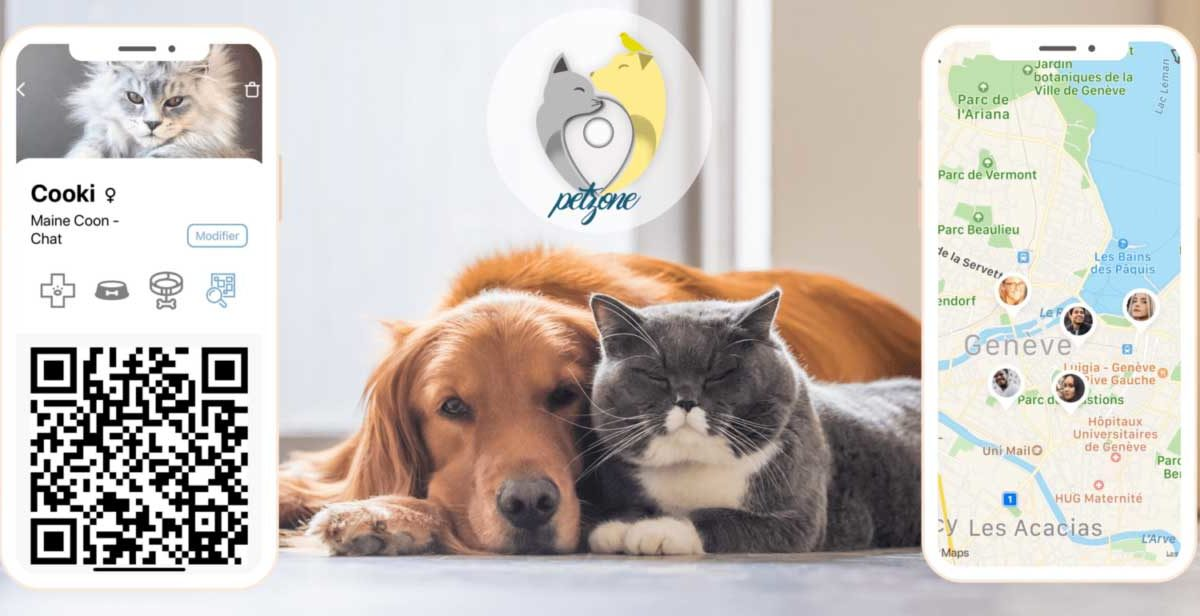 Petzone, une application au poil